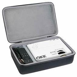 co2crea Hard Travel Case for QKK Mini Projector 4500Lumens P