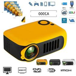 HD 1080P Mini Portable Home Theater Projector Multimedia Mov