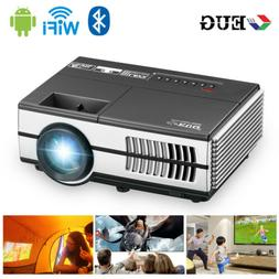 HD Portable Mini Andriod Bluetooth Projector HDMI Airplay Ko