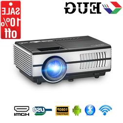 HD Android Mini Pico Projector 1080P Smart Home Theater Game