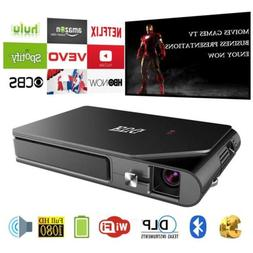 EUG HD Mini Android 3D DLP Projector Bluetooth Wifi Online H