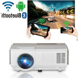 HD Mini LED Smart Home Theater Projector Android Wifi Movie