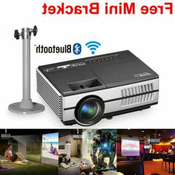 EUG HD Mini LED Smart Projector Android WiFi Bluetooth Home