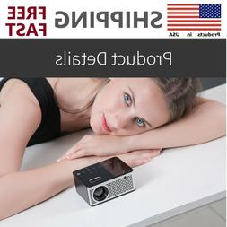 HD Mini Touch Screen LCD LED Projector Home Multimedia Cinem