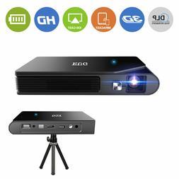 Mini HD 3D WiFi Projector 1080P DLP Home Cinema Smart Wirele