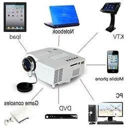 Home Cinema 1080P HD VGA HDMI LED Projector Mini Theater Mul