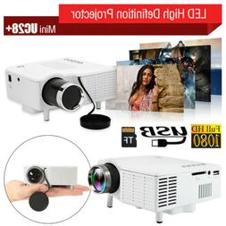 Home Mini HD TFT LCD Projector 400 Lumen Projector Media Mov