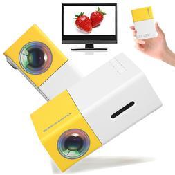 Home Mini Projector Portable HD Cinema Theater LED Pico Proj