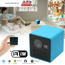 Home Multimedia IOS/Android 1080P HD DLP WIFI Mini Portable