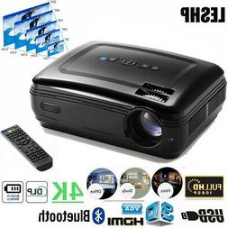 Home Projector 5000Lumens 4K 3D Full HD 1080P LED Mini Cinem