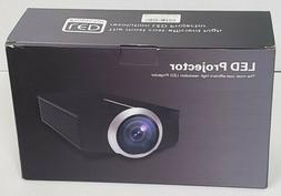 Home Projector, Deeplee DP500 Mini Projector 1500 Lumen Port