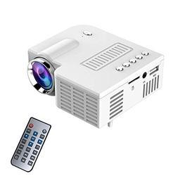 Qjoy Home Projector Portable UC28 PRO HDMI Mini LED Home Cin