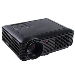 5000 Lumens HD 1080P Home Theater Projector 3D LED Portable
