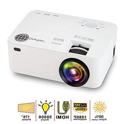MacStein Home Theater Projector - 1080P Supported | 1800+ Lu
