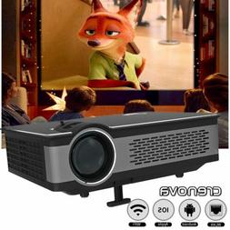 Home Theater Projector USB/SD/Bluetooth WIFI Cinema Phone Vi