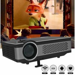 Home Theater Projector USB/SD/AV/Bluetooth WIFI Cinema Smart
