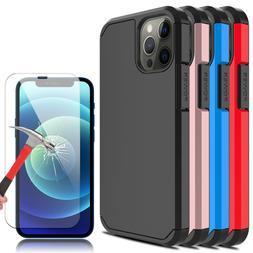 For iPhone 12 Mini/Pro/Max/5G/11 Case Hybrid Hard Phone Cove