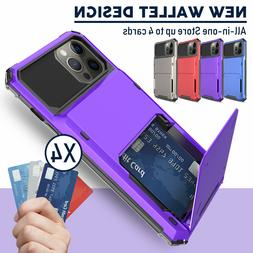 For iPhone 12 Pro Max,Mini Case Wallet Shockproof Hybrid Car