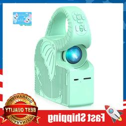 Kids Mini Projector Zoomable Video,Songs & Animations Player