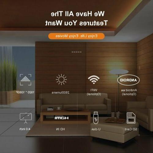 1080P Android Portable Mini Video Bluetooth Home Theatre
