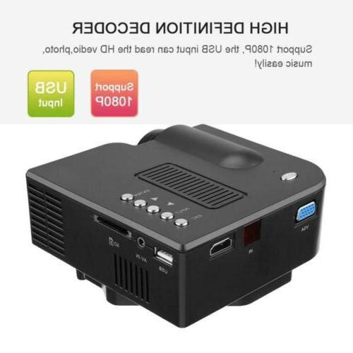 1080P Mini Portable Theater Cinema AV Lot DA#