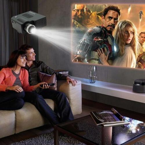 1080P Full HD LED Mini Portable Theater Cinema Lot