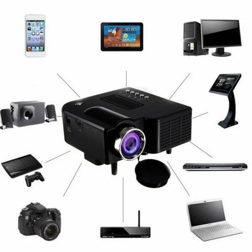 1080p full hd led mini portable projector
