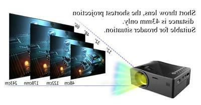 7000 Lumens 3D HD 1080P Projector Multimedia Theater