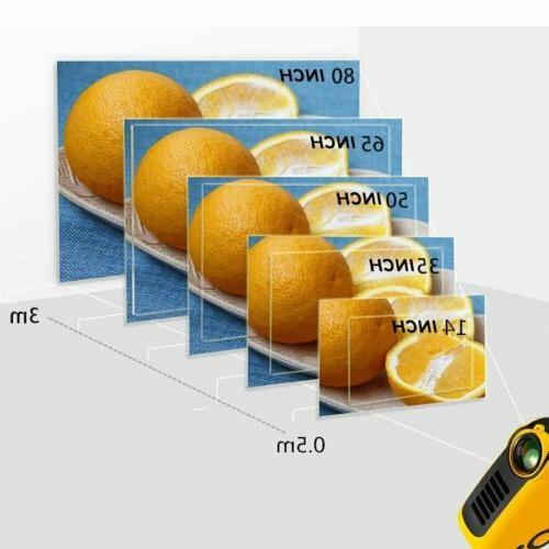 Mini HD Pocket Projector Projectors Home Theater HDMI