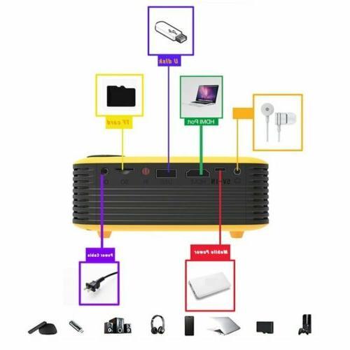 Mini HD 1080P Pocket Projectors Theater