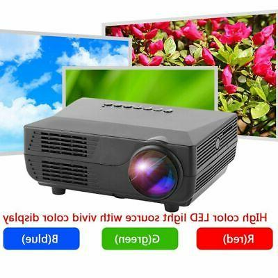 1080P HD 3D Projector Multimedia Home Theater Cinema VGA HDMI