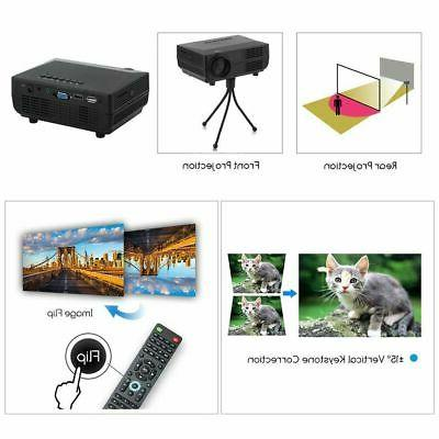 1080P Projector LED Multimedia Theater VGA