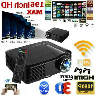 1080p hd wifi portable 3d led mini