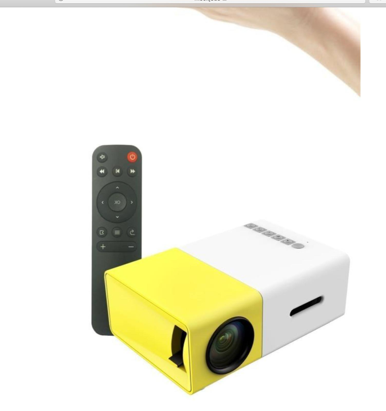 1080P Theater SD HD LED Projector