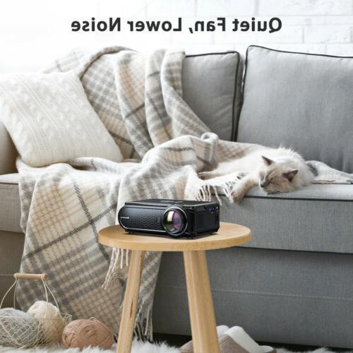 """Portable 130"""" Mini Home Theater SD"""
