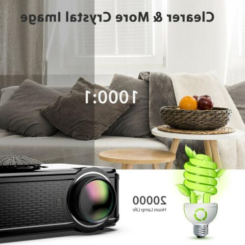 """Portable 1080P 130"""" Mini SD"""