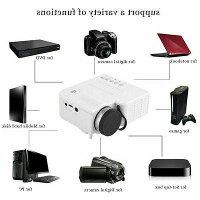 1080P Projector Home Multimedia TV TF HDMI