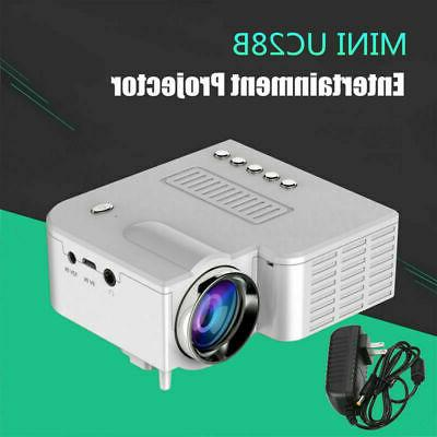 1080P Projector Multimedia USB AV TF