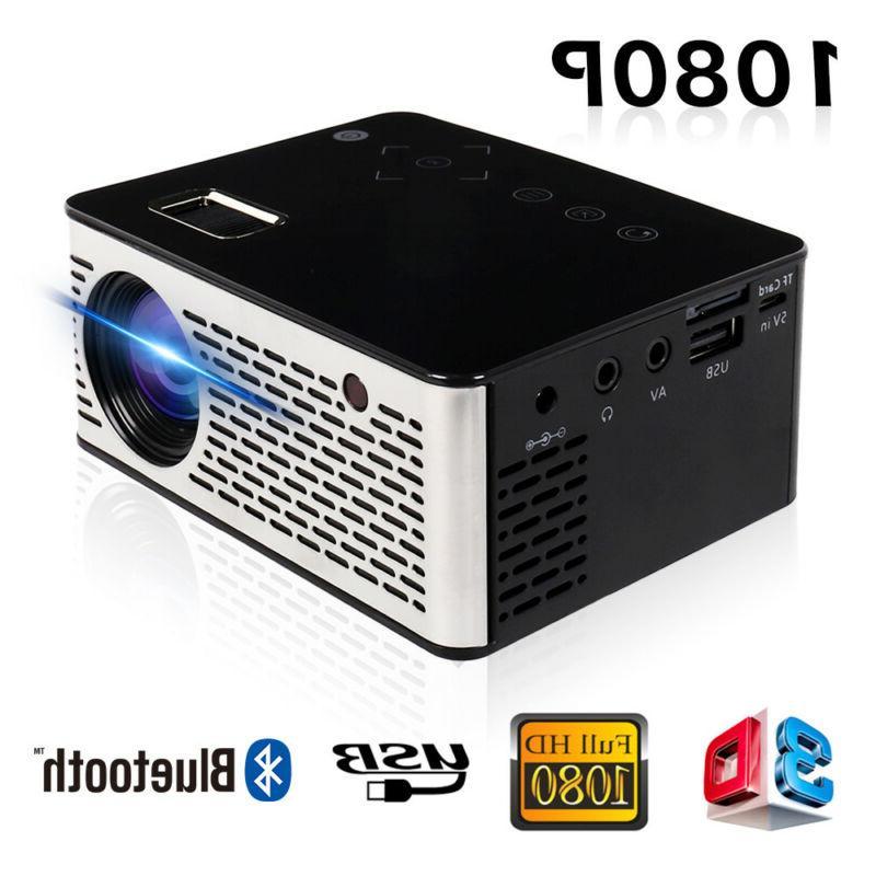 1080p mini led portable high definition multimedia