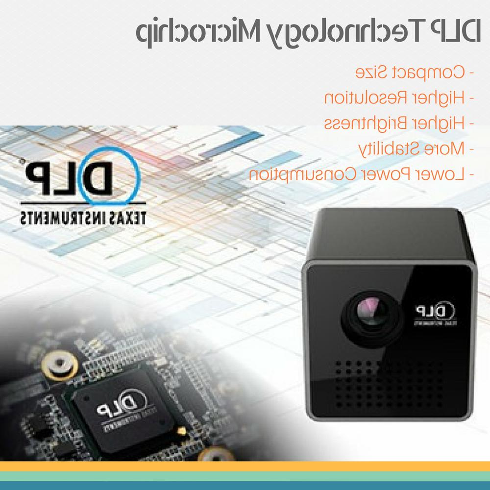 1080P HD Wireless Projector LED Home