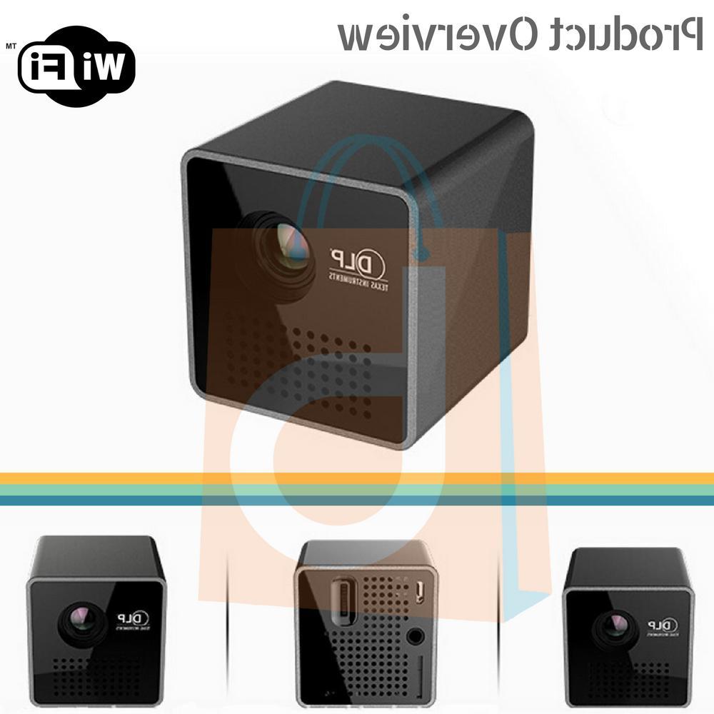 1080P Mini Wifi Wireless LED Theater Multimedia