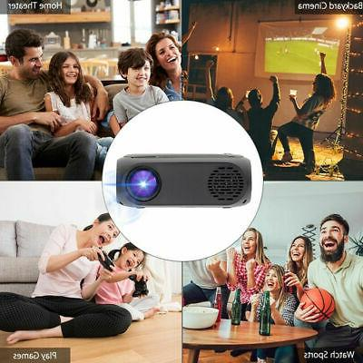 1080P Portable LED Projector Home Cinema Multimedia USB