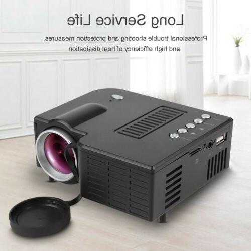 1080P Mini Projector Theater Multimedia HDMI USB