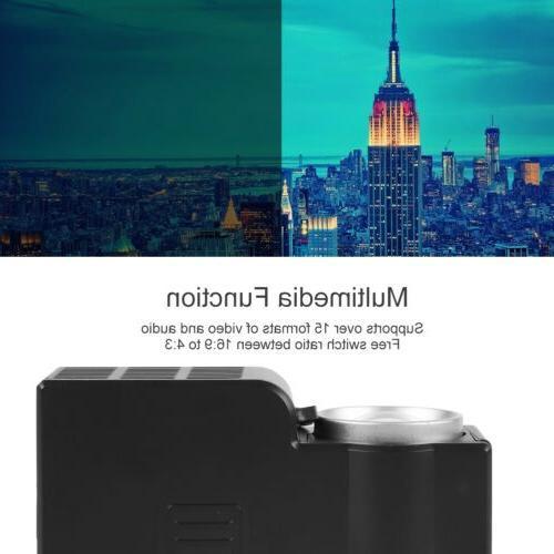 1080P Portable Mini Projector Home Theater Multimedia HDMI USB