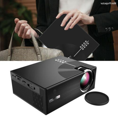 3d hd 1080p mini portable projector c7