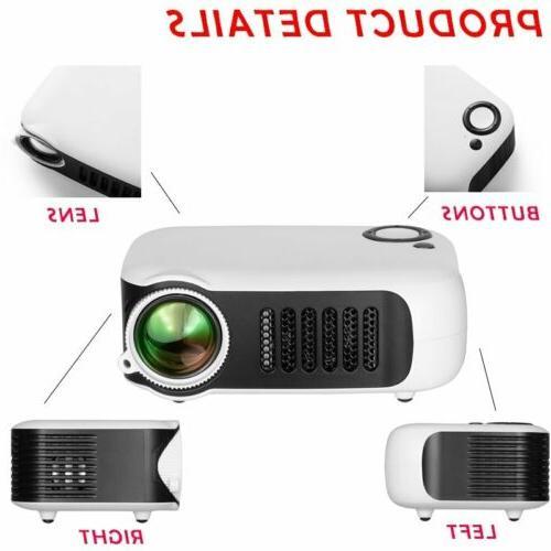 Mini Pocket HD Movie Projectors Home Theater HDMI