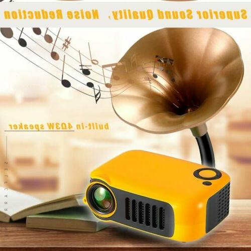 18000LM Mini 1080P Portable Pocket Projector Projectors Home