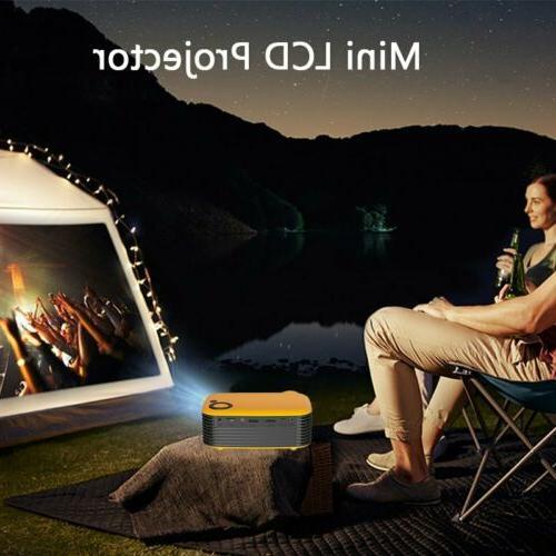 Mini HD 1080P LCD Theater Video Projector