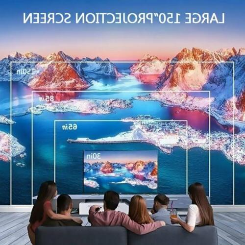 Mini Screen 3D Home Theater Video Projector
