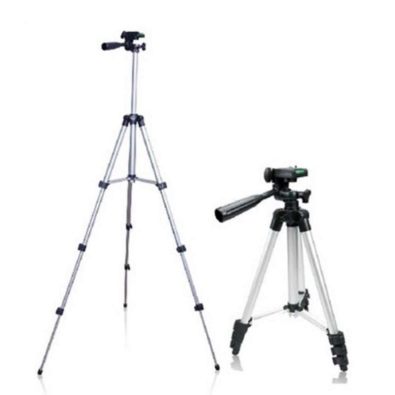 1pc Portable Tripod <font><b>Stand</b></font> Aluminium Alloy Adjustable Cameras Tripod <font><b>Projector</b></font> Camera Mayitr